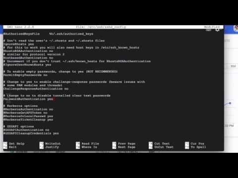 วิธีให้ Root สามารถ SSH Linux Server Google Cloud