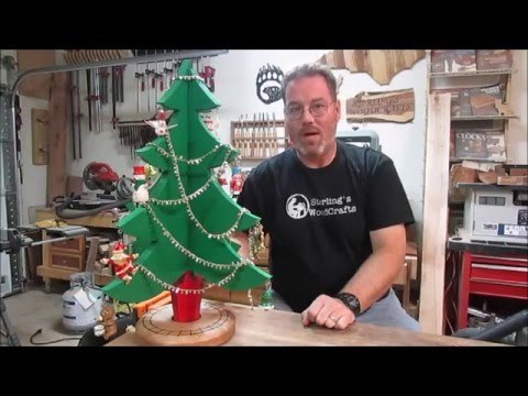 Christmas Tree with Limited Tools