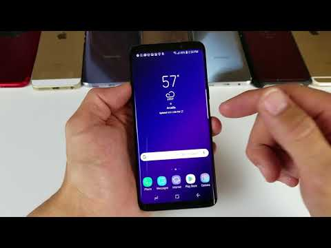 Galaxy S9 & S9+ HOW TO TAKE A SCREENSHOT / SCREEN CAPTURE