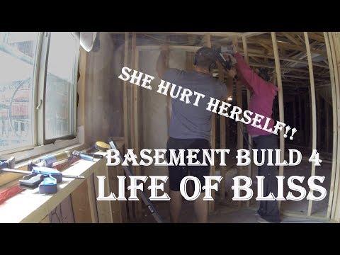 Basement Build 4 - Finish Framing and Lighting