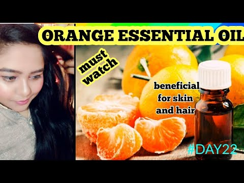 HOW TO MAKE ORANGE ESSENTIAL OIL AT HOME #30DAY #30DIY #DAY22