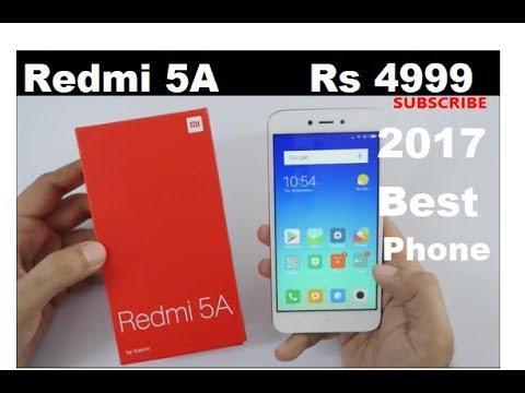 Xiaomi Redmi 5A - Desh Ka Smartphone    (HINDI) Unboxing