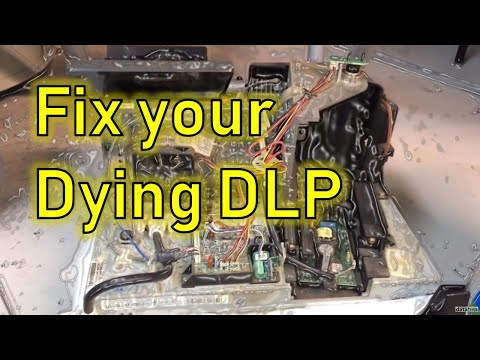 Fix Your Dying DLP TV with a Vacuum Hose
