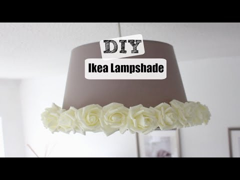 DIY| How to Revamp an Ikea Lampshade