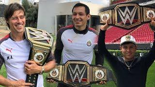 WWE REGALA CINTURON A LAS CHIVAS POR SU CAMPEONATO