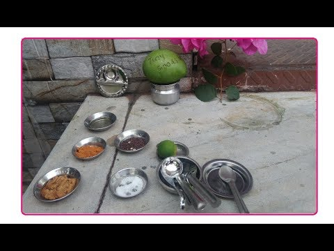Miniature Sweet Mango Receipe   Mini Food   Tamil Tech Today Tiny Foods   TinyFoods.in
