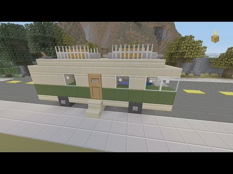 SPANKLECHANK'S Minecraft Tutorials: How to make an R.V./Camper