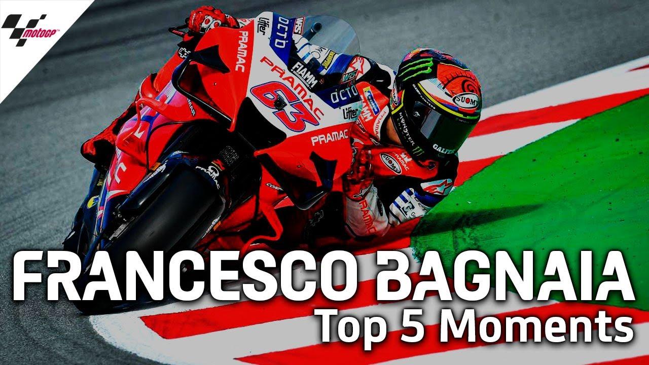 Francesco Bagnaia's Top 5 Moments So Far