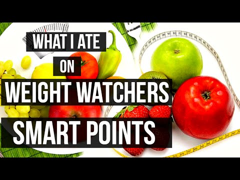 What I Ate on Weight Watchers Smart Points for the Week