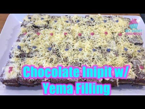 Chocolate Inipit with Yema Filling