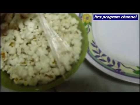 make salty popcorn in microwave without bag