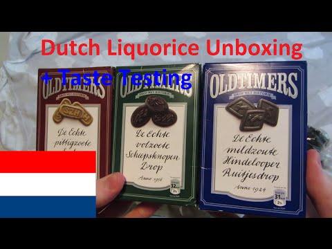 Dutch Liquorice Unboxing + Taste Testing