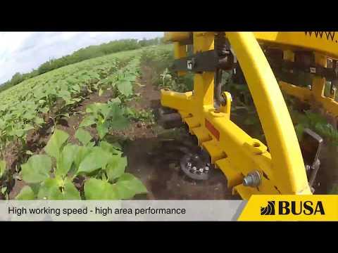 Busa Row-crop cultivator
