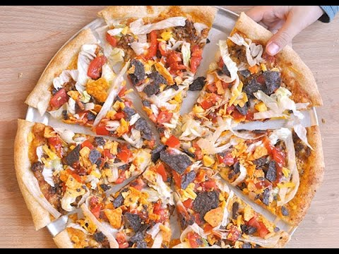 How to: Make a Taco Pizza