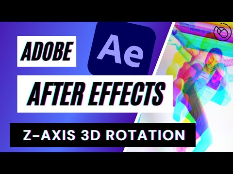 Z Axis After Effects' Tutorial Example