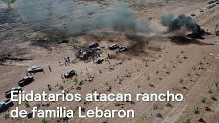 Ejidatarios atacan rancho de familia Lebarón - En Punto con Denise Maerker