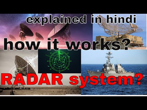 [hindi]how RADAR works? how it know distance and speed? explain in hindi