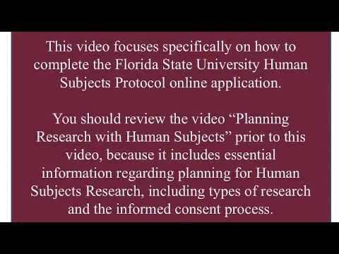 Preparing Your IRB Protocol