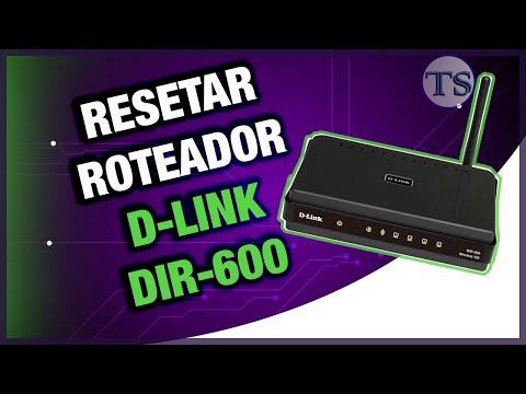Reset D-link DIR-600
