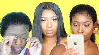 Affordable Back To School 360 Wig | Customization Tutorial | WowAfrican Malaysian Full Lace Wig