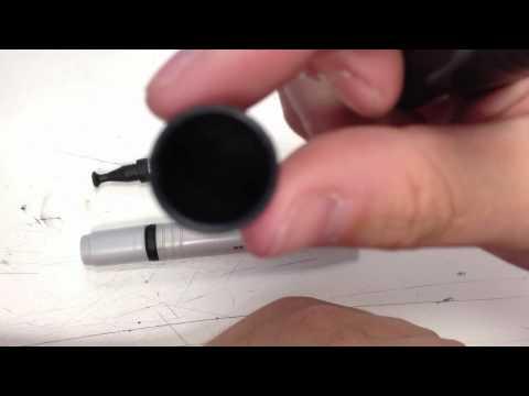Mobile phone screen cleaner lenspen brush