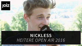 Nickless: «Kurze Hosen auf der Bühne sehen einfach nicht geil aus»