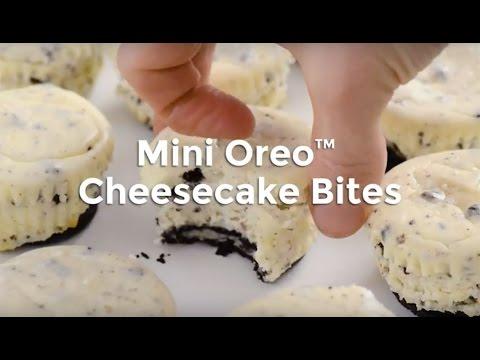 Mini Oreo Cheescake Bites