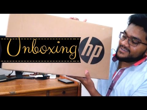 Laptop Unboxing & Review HP pavilion 15r222ne | CI5, 5th gen, 6GB Ram, 1TB H.D, 2gb Graphic, Win10