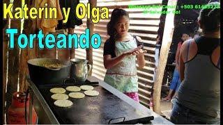 Katerin y Olga Echando Las Tortillas - Una Sorpresa Para NORMITA Parte 8