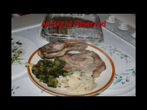 Grilled Pork Chops in 8 min on the George Foreman with Jimbo Jitsu