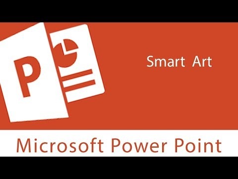 Powerpoint : Smart Art | Changing layout, Style and Color Scheme