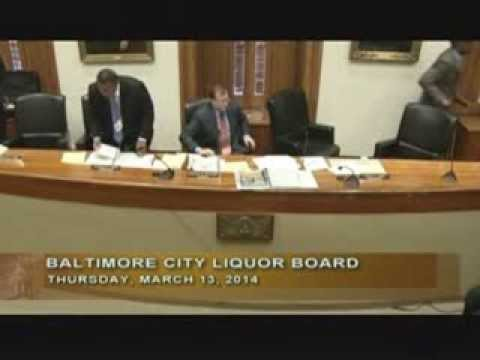 Baltimore City Liquor Board: