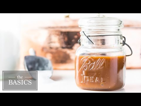 Homemade Caramel Sauce | The Basics