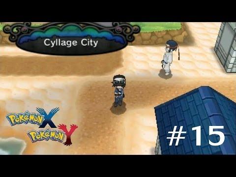 Pokemon Y Walkthrough Episode 15 w/Facecam - Route 8 to Cyllage City!