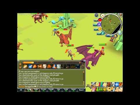 runescape-red dragon bots