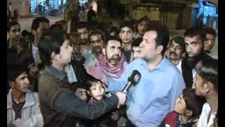 """Sarak Kinarey 1/2 """"Lyari bomb blast on PPP office"""""""