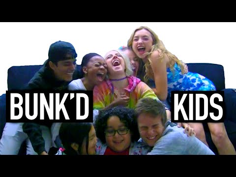 The BUNK'D Disney Channel Cast from Camp Kikiwaka