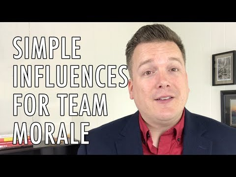 Simple Influences for Team Morale - Your Practice Ain't Perfect - Joe Mull
