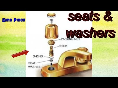 Replace Washers & Seats Faucet Leak