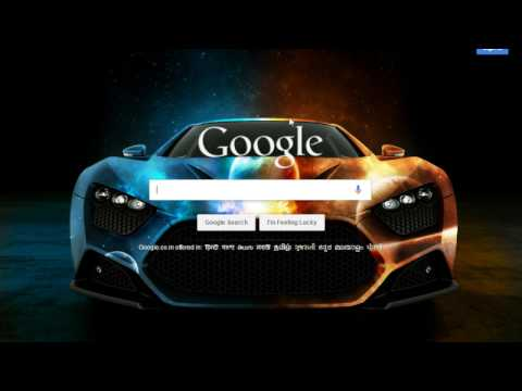 how to change Background Image for Google™ Homepage