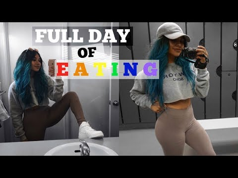 WHAT I EAT FOR THE GAINS + LEG DAY
