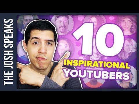 10 INSPIRATIONAL YOUTUBERS YOU NEED TO WATCH ✨