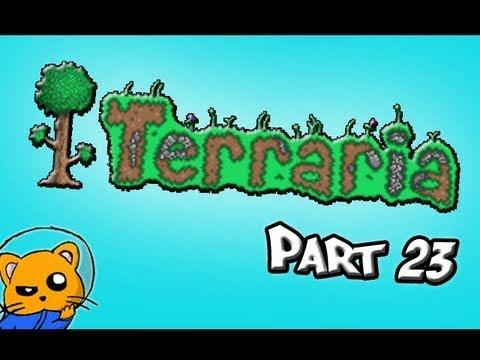 Terraria - Part 23 - Need MOAR Demonite Bars!