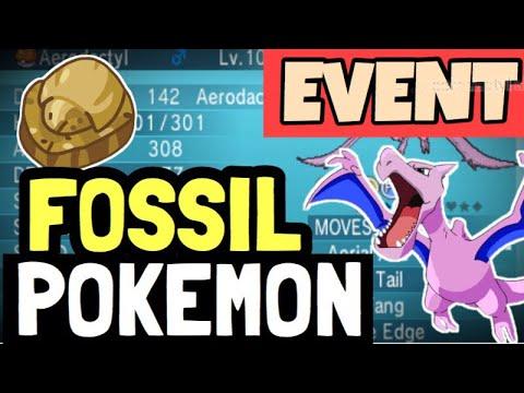 FREE FOSSIL POKÉMON EVENT?! (Pokémon Ultra Sun and Pokémon Ultra Moon)Easter Egg Pokemon Sun/Moon!
