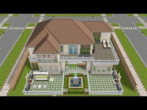 Simsfreeplay - House Tour (My design)