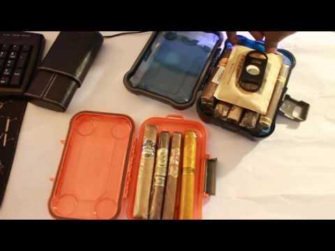 DIY Cigar Travel Case / Humidor.