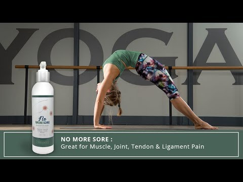 Suffering from Muscle & Joint Pain? Try Sore No More Pain Cream | YOGABODY®