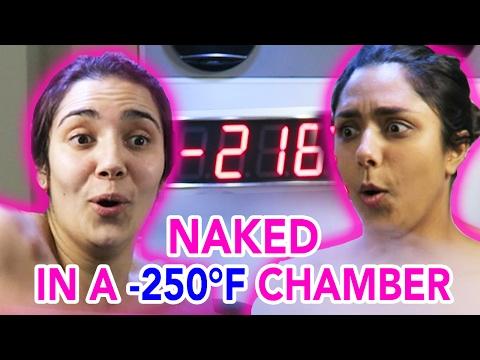 We Tried A -250°F Cryotherapy Chamber (feat. Safiya Nygaard)