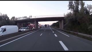 Calais - Migrant Truck Attacks