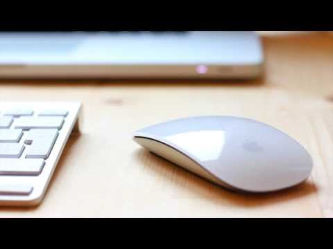 Setting up a magic mouse, rename and reverse scrolling